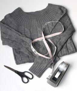 Инструменты для переделки свитера