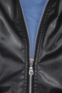 молния на куртке