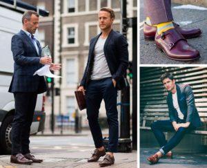 Монки - мужские туфли с 1-3 ремешками