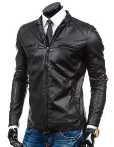 мужские украшения под кожаную куртку