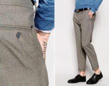 сели брюки после стирки что делать