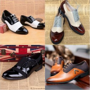Оригинальные модели мужских туфель