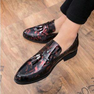Мужские туфли с принтом