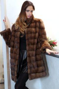 норковая шуба — модно и роскошно