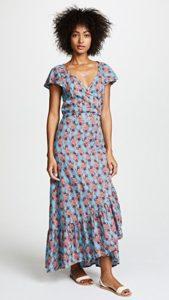 платье халат на низком ходу