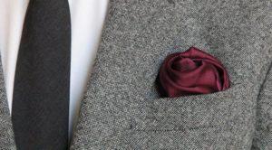как складывать платок в карман пиджака