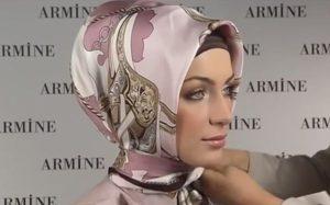 платок по мусульмански
