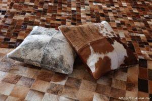 подушки из шубы