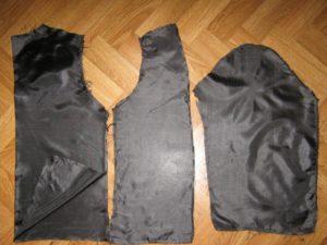 обновить подкладку на пуховике