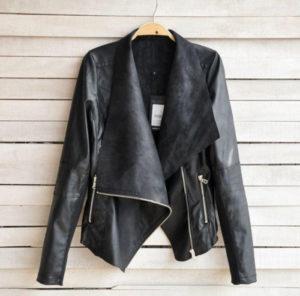 правильное хранение кожаной куртки