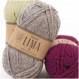 Шерстяные нитки для вязания