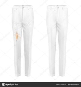 пятно на брюках