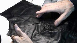 Сборка деталей куртки