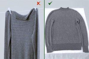 свитер разложить