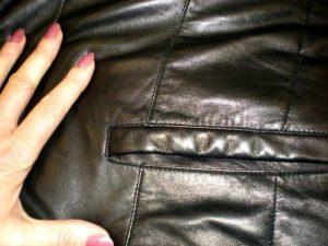 Разглаживаем куртку