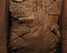 разнашивание мятой кожаной куртки