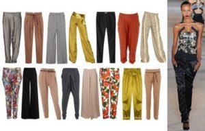 виды женских брюк