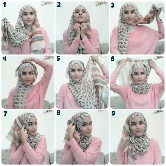 Как завязать хиджаб
