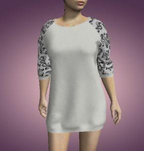 камуфляжное платье