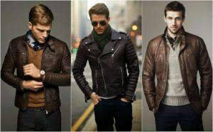 с чем носить кожаную куртку мужчине