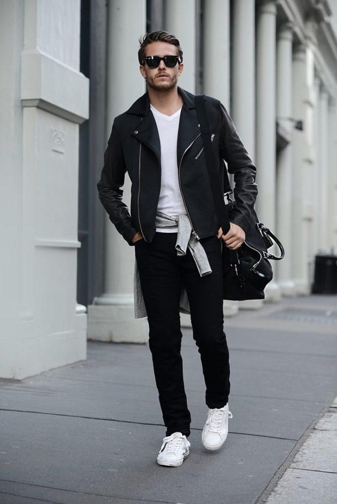 Чёрные брюки в мужском гардеробе