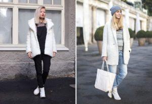 девушки в белых ботинках