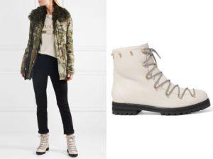 белые ботинки с брюками