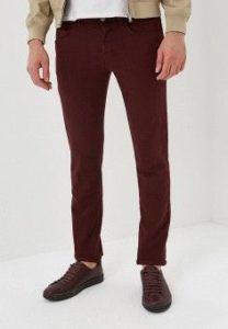 бордовые мужские брюки