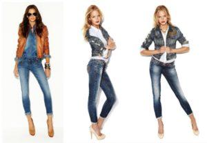 джинсовые капри