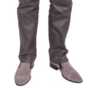 Серые мужские туфли