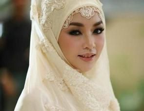 мусульманская девушка на никах