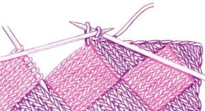 Вязание в стиле пэчворк