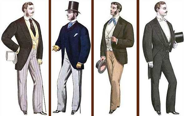 смокинг 19 века
