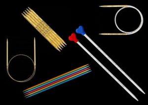 Разные спицы для вязания