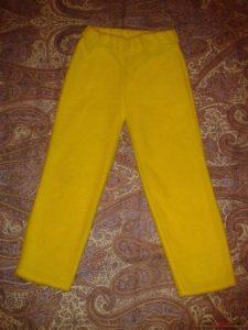 брюки для образца