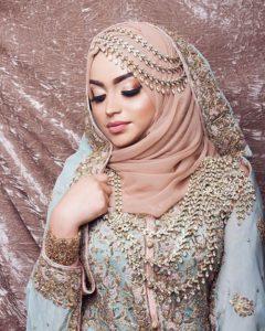 свадебный хиджаб