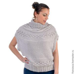 как называется свитер без рукавов