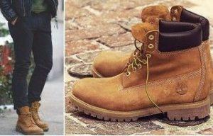 Мужские высокие туфли (ботинки) тимберленд