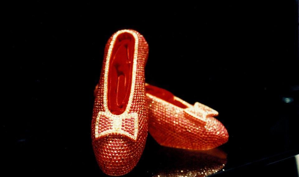«Harry Winston» рубиновые башмачки Элли