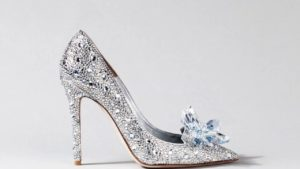 Туфли-лодочки с бриллиантами