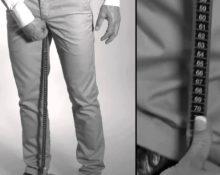 ушить брюки по внутреннему шву