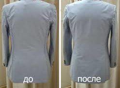 ушитый пиджак