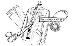 ушиваем мужской пиджак