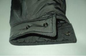 ушиваем рукава куртки