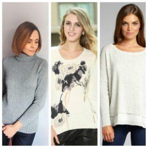 виды женских свитеров