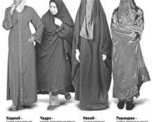 виды хиджабов