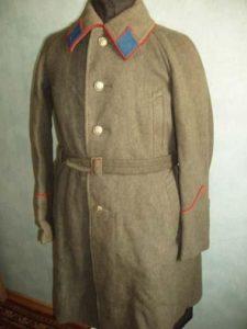 военная форма с рукавом реглан