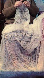 вязание паутинки