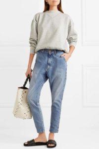в какие джинсы заправлять