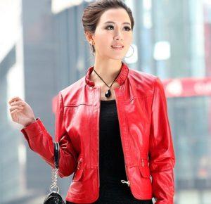 женские украшения под кожаную куртку